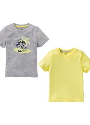 Набор 2 шт футболки для мальчика lupilu германия