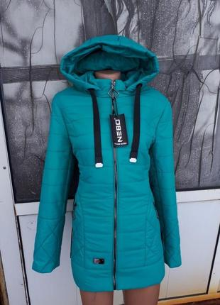 Женская осенне  весенняя курточка больших размеров