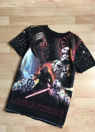 Оригинальная футболка star wars на подростка 13-14 лет