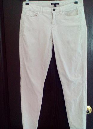 Вельветовые джинсы mango casual нежный розовый цвет 36 р.