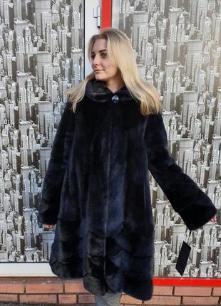 Шуба норковая шубка норочка женская зимняя одежда