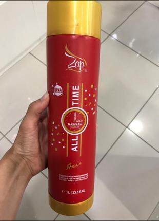 Кератин zap all time  для выпрямления волос 1000 мл (рабочий состав)