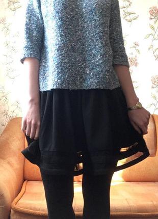 Черная юбка  от asos