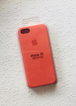 Продам новый чехол {silicone case} на iphone 5/5s/se