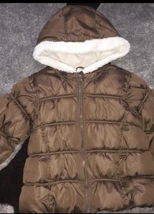 Зимняя курточка унисекс old navy 3t