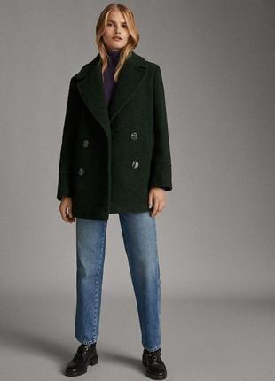 Пальто пиджак бойфренд короткое