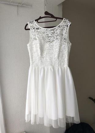 Свадебное платье, платье на роспись
