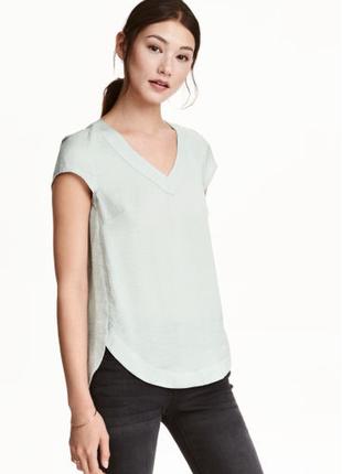 Блузка h&m с коротким рукавом