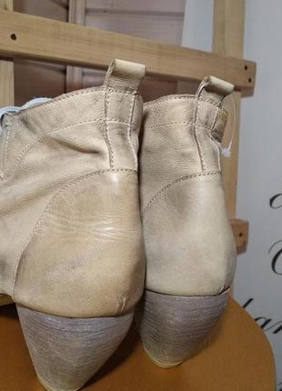 Розпродажа! ботинки nic dean из натуральной качественной кожи, италия