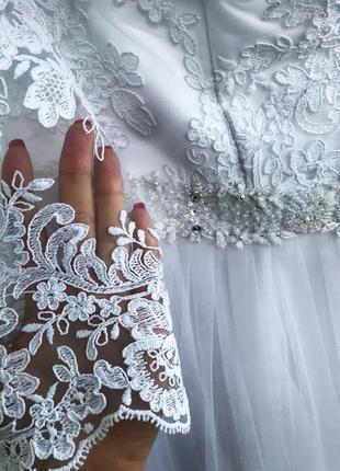 Красивое свадебное платье .торг