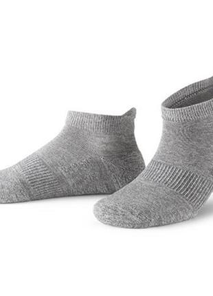 Носки, спортивные, беговые, профессиональные, серые, tcm tchibo, размер 35-38