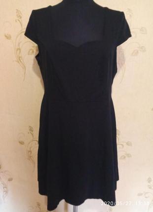 Трикотаэное базовое платье dorothy perkins
