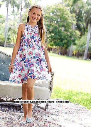 Роскошное яркое нарядное платье сарафан платье с бабочками bonprix bpc collection трапеция
