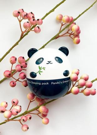 Отбеливающая ночная маска для лица tony moly panda 's dream white sleeping pack