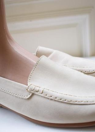 Кожаные туфли мокасины лоферы слипоны gabor  jolly р.41 27 см лодочки балетки