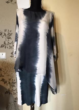 Платье alba moda шёлк,шелк,шовк