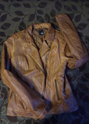 Куртка pimkie из эко-кожи