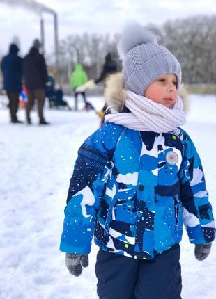 Продам детский термо комбинезон + шапка в подарок
