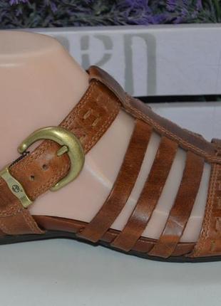 Кожаные сандали timberland р. 38,5 по стельке 25 см