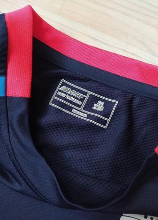 Детская синяя спортивная футболка new balance xs83 фото