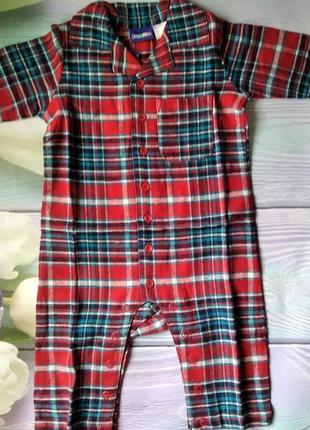 Человечек пижама ромпер комбинезон