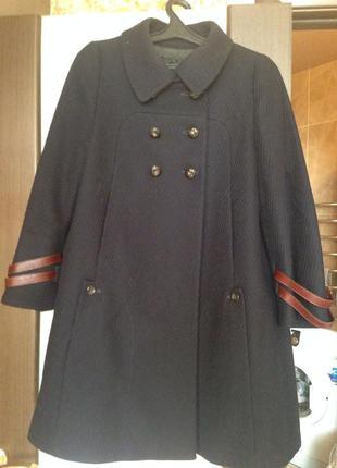 Пальто sportmax code шерстяное