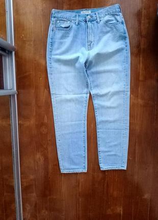 Классные мом джинсы medewell высокая посадка