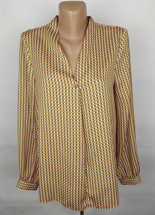 Блуза новая стильная в клетку f&f uk 12/40/m