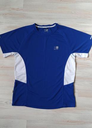 Синяя спортивная футболка karrimor размер s1 фото