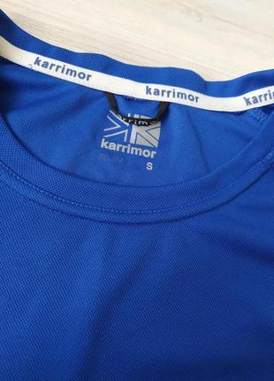 Синяя спортивная футболка karrimor размер s3 фото
