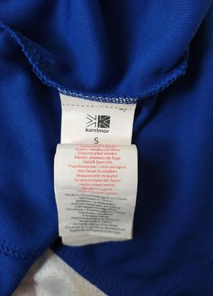 Синяя спортивная футболка karrimor размер s4 фото