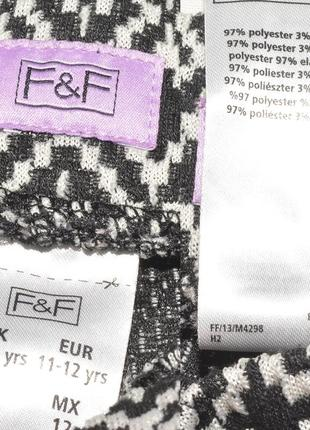 Шорты с нахлестом в геометрический узор f&f5 фото