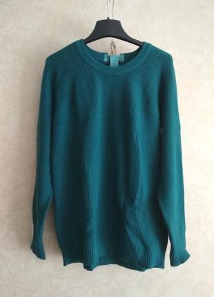 Итальянский свитер цвета морской волны
