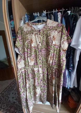 Красивое платье h&m р. 50 евро на наш 52-54