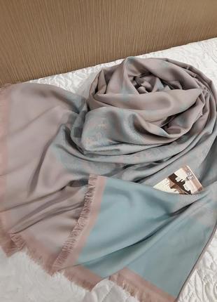 ❤роскошь турецкий двухсторонний шелковистый шарф шаль палантины