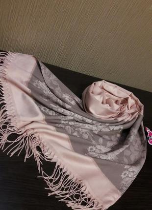 🎈роскошные турецкие шелковистые шарфы шали палантины