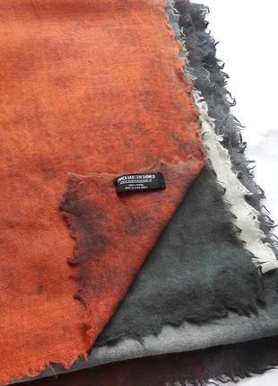 Большущий палантин,платок,шерсть bianca van leur shawls.