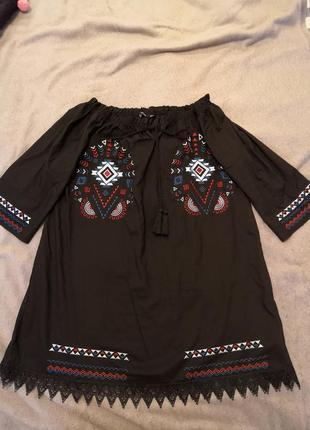Легкое этно платье