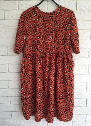 Плаття леопард