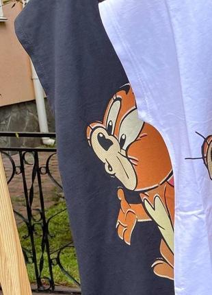 Женская коттоновая футболка с рисунком в стиле pop-art