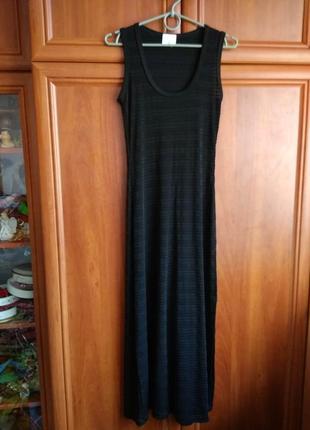 Стильна на півпрозора сукня