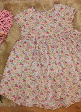 Котоновое платье next 2-3г
