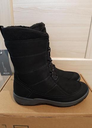 Зимние сапоги натуральная кожа ecco trace mid boot оригинал сша