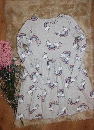 Красивое платье h&m на 8-10лет
