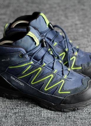 Ботинки трекінгові salomon clima-shield waterproof оригінал