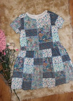 Платье next на 5-6л
