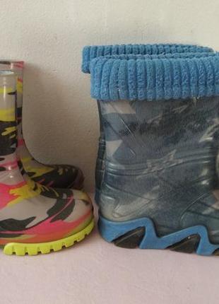 Demar резиновые сапоги сапожки 22-23, 24-25 размер