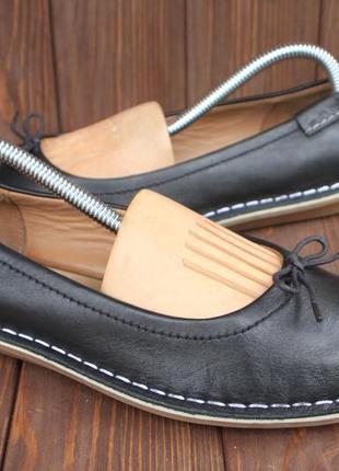Балетки clarks кожа англия 37,5р туфли