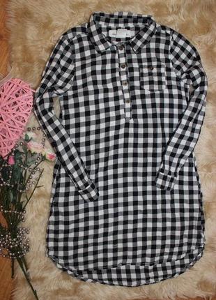Клевое платье h&m на 8-9л