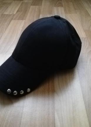 Классная стильная кепка бейсболка коттон на кнопках 57-58